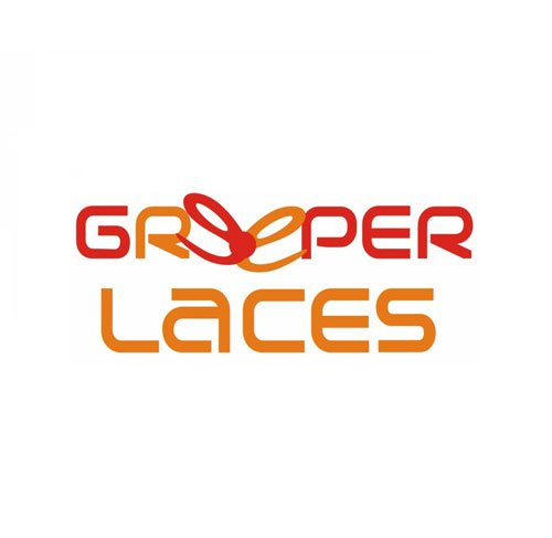 greeper laces logo triathlon schnuersenkel